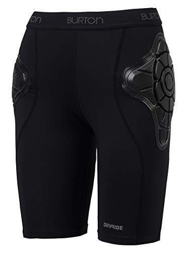 Burton Damen Total Impact Shorts Protektor, Schwarz (True Black), L -