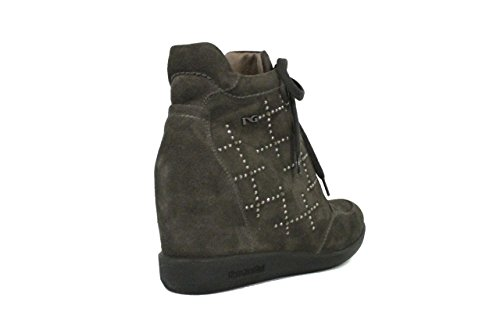 Nero Giardini Sneaker Donna con Zeppa Interna ART. A411622D - 103 Carbone