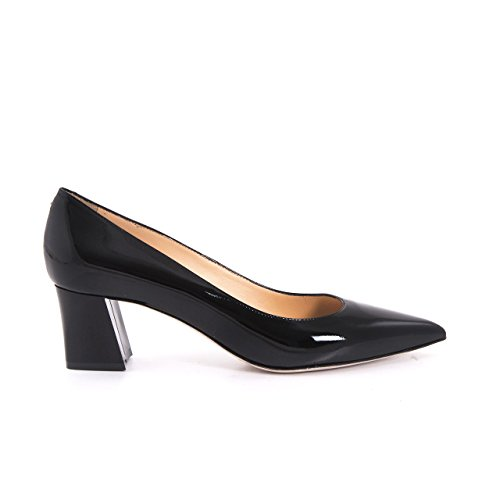 Damen Premium High Heels Echtleder Lackleder Lack Pumps Stilettos Spitze Schuhe, Festlich Hochzeit Feierlich Elegant Trendig Ledersohle (36, Hautfarbe Lack)