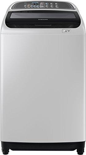 Samsung WA90J5710SG/TL Fully-Automatic Top-Loading Washing Machine (9 Kg, Grey)