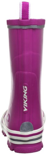 Viking JOLLY Unisex Kinder Langschaft Gummistiefel Pink (Fuchsia 17)