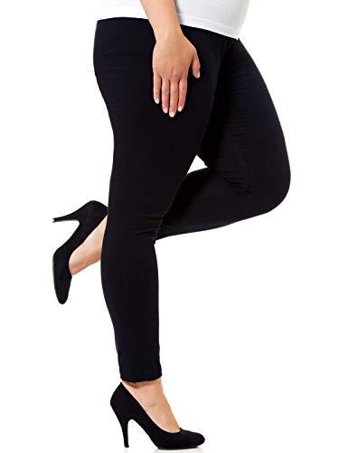 775e771e095 Kiabi Ladies Black Cotton Rich Plus Size Leggings (14-16)