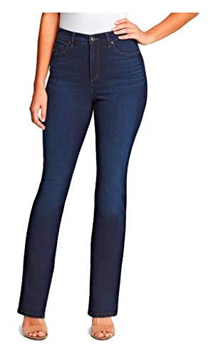 Gloria Vanderbilt Damen Amanda Bootcut Jeans, Parker - Whiskers, 40 Zierlich
