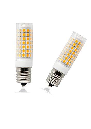 Bombillas LED E17, regulables, 8,5 W, luz blanca diurna 6000 K, bombilla...