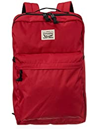 Levis Pack Mochila, 38004-0100, rojo oscuro, talla única