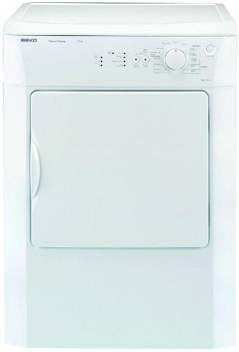 Beko DRVS73W vented dryer, 7kg load, C energy, white