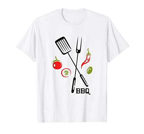 BBQ Barbecue Grillen Grillmeister Grillparty Grill T-Shirt (Vegan-kochkurs)
