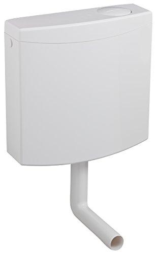Marley 2-Mengen-WC-Spülkasten Modell: Granit, weiß