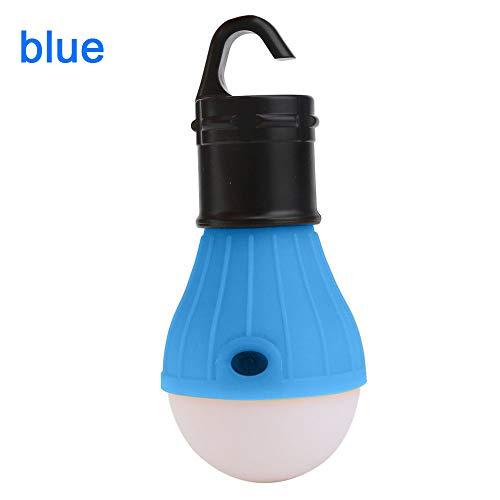 Hängende LED Camping Zeltlampe Lampe Lampe Angellaterne Lampe Outdoor Reise Zubehör blau