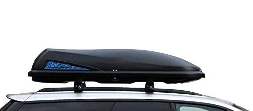 Ultra Plast Dachbox MD3 178x52x35cm 250L ganz schwarz