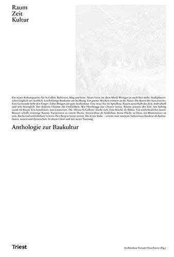 Raum. Zeit. Kultur: Anthologien zur Baukultur
