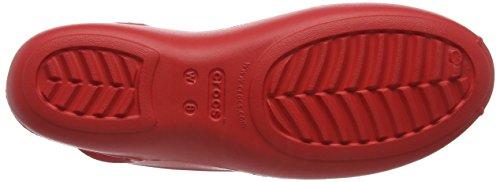 crocsOlivia II Flat - Ballerine Donna Rosso (Flame)