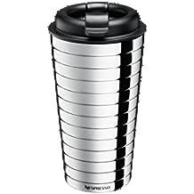 Nespresso Citiz taza de viaje de acero inoxidable, 16 cm