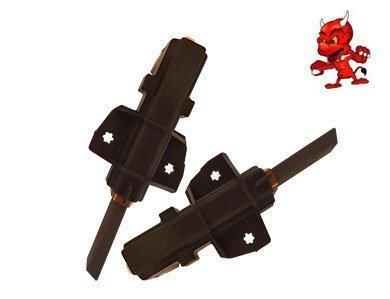 Preisvergleich Produktbild Kohlebürsten Motorkohlen für Bauknecht WASTUTTGART,  WAVIENNA1200,  WAVIENNA1400 mit CESET Motor