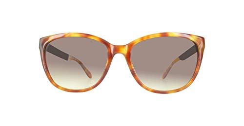 Moschino Damen MO289S-02-53 Sonnenbrille, Braun, 56