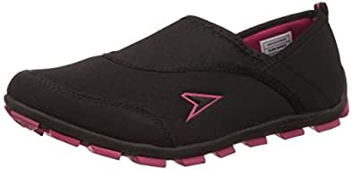 Power Women's Attract L Black Running Shoes - 5 UK/India (38 EU)(5396053)