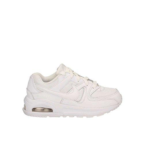 Nike Air Max Command Flex (Ps), Scarpe da Corsa Bambino Multicolore (White/White/White)