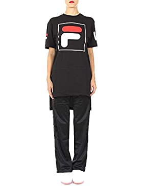 Fila Mujer 682399002 Negro Algodon T-Shirt