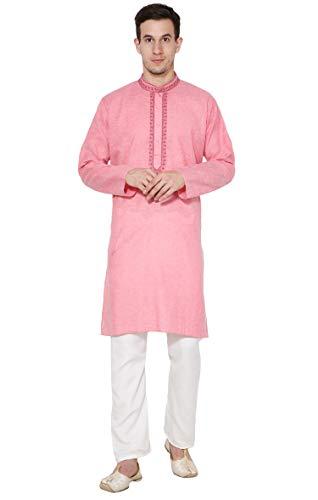 Kurta indischen Männer-Pyjama-Hochzeitskleid Kurta-Pyjama-Langarm-Shirt aus Baumwolle Pyjama es