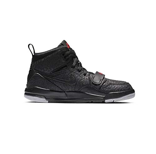 Nike Air Jordan Legacy 312 Little Kids' - black/black-varsity red, Größe:2.5Y