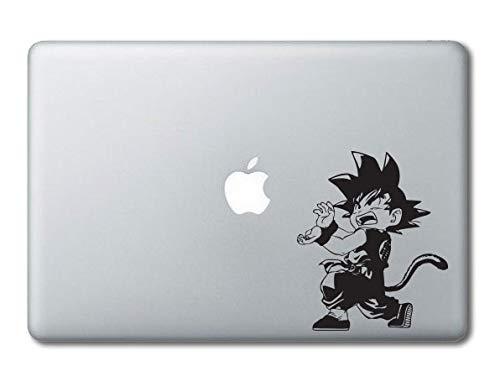 Kid Goku Kamehameha Dragonball Bedruckter Transparenter Vinyl-Aufkleber kompatibel mit Apple MacBook Pro Air 27,9 cm 30,5 cm 13 15 Zoll Alle Jahre Laptop Tastatur 11