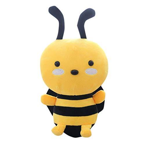 Gusspower Plüsch Biene, Entzückendes Kawaii Biene Weiches Plüsch-Spielzeug-Puppe Nettes Angefülltes Spielzeug Geschenke für Kinder (20cm)