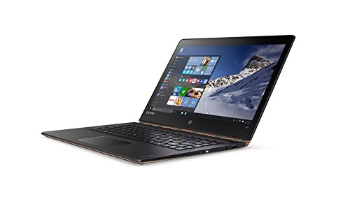 "Lenovo YOGA 900S-12ISK Portatile da 12,5"" 2560 x 1440, Intel Core M7-6Y75 1,2 GHz, 8GB RAM LPDDR3, 256GB SSD, Windows 10 [Francia]"
