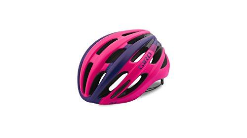 Giro Donna Saga Bicicletta Casco, Donna, 200111027, Mat Bright Pink, S