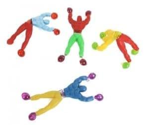 Anniversaire Kermesse - 10396 - Pack de 48 Figurines Acrobates Ninjas Collants - Multicolors - Anniversaire Garçon