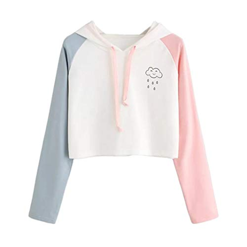Damen 2019 Herbst Langarm Hoodie,TWIFER Sweatshirt mit Kapuze Winter Pullover Tops -