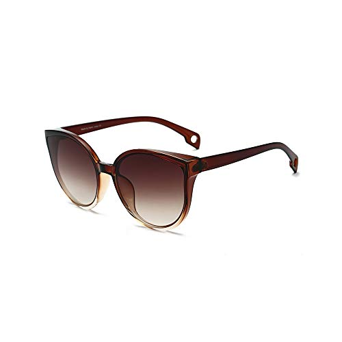WJFDSGYG Cat Eye Sonnenbrillen Frauen Männer Gradient Brillen Sonnenbrillen Weibliche Brillen Uv400 Fashion Drive Outdoor