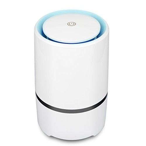 Luftreiniger Air Purifier mit HEPA-Filter Aktivkohlefilter,Desktop-USB-Luftreiniger Ionisator, perfekt gegen Staub und Haustier-Allergene, für Allergiker, Raucher