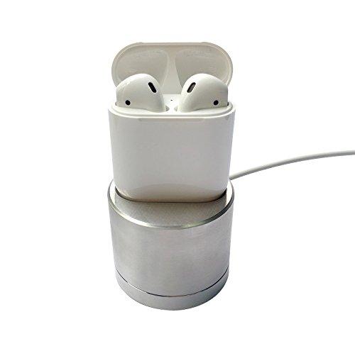 Preisvergleich Produktbild Apple Airpods Ladegerät iBetter Wireless Bluetooth Kopfhörer Lade Dock Stand Case für Apple Airpods