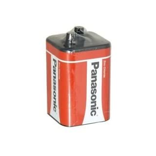 All Trade Direct 2X Panasonic 6V Taschenlampe 4R25, 996, Zinkchlorid-Zelle/B