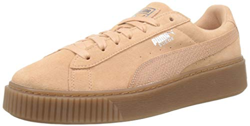 Puma Damen Sneaker Basket Platform Animal Sneakers Frauen