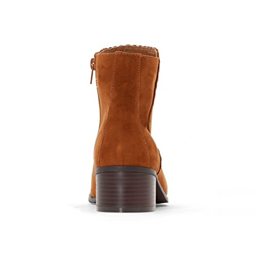 Castaluna Frau Boots Mit Absatz Camel
