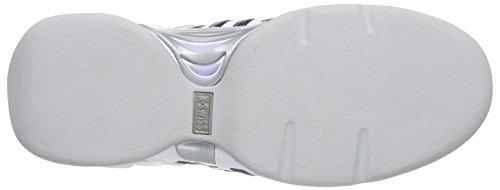 K-Swiss Performance KS TFW ACCOMPLISH II Herren Tennisschuhe Weiß (White/Navy/Silver)