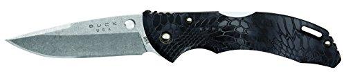 Buck Einhandmesser Couteau Bantam Kryptek Typhon 0285CMS27 Mixte, Multicolore, Taille Unique