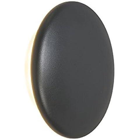 QAZQA Applique 'Dot' moderno carbone/plastica - include LED / esterno