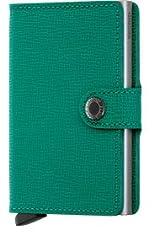 Idea Regalo - Portafogli Secrid mini-wallets Crisple colore Smeraldo