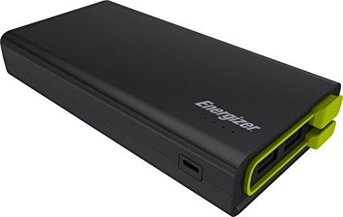 Energizer UE15001-BK 15.000 mAh Powerbank mit Mikro USB Kabel Schwarz