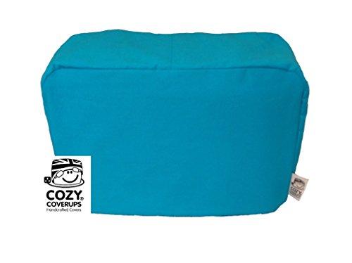 cozycoverup® Staub Cover für Toaster in türkis blau Dualit New Gen Classic 4 Slice türkis (Slice Dualit Toaster 4)