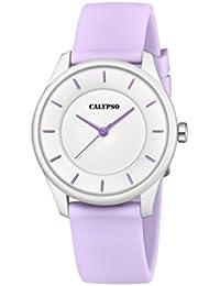 Calypso Reloj Análogo clásico para Unisex de Cuarzo con Correa en Plástico ...