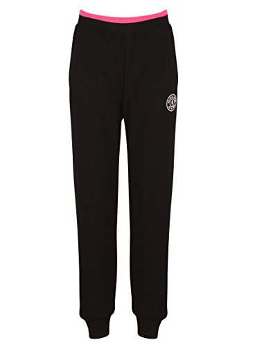 Golds Gym Ladies Fitted Premium Jog Pant, Pantalon de Sport Femme Black