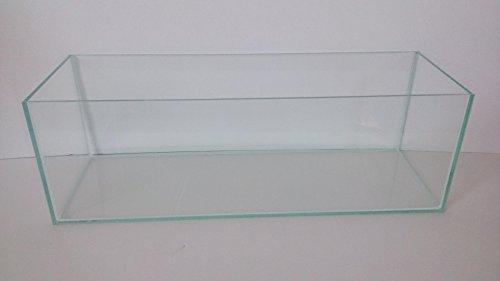 Aquarium Glasbecken Becken Glasaquarium Aqaurien in vielen Größen für Süß- und Salzwasser (60x20x20)