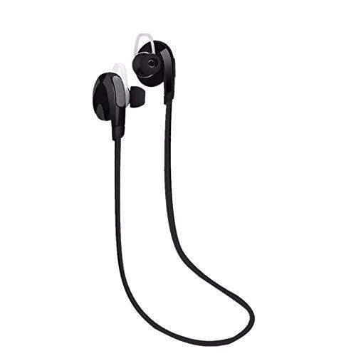 Tefamore Auricular Estéreo Inalámbrico Bluetooth Para Auriculares De Deporte Universal (negro)
