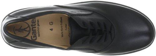 Ganter Gala, Weite G 4-208131 Damen Casual Schnürer Schwarz (schwarz 0100)