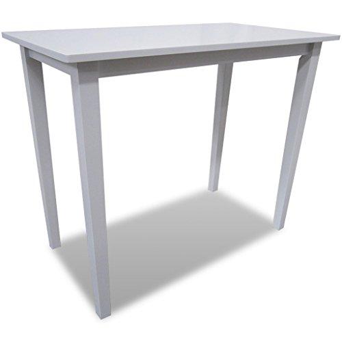 vidaXL Holz Bartisch Stehtisch Tisch Beistelltisch Esstisch Küchentisch Balkontisch
