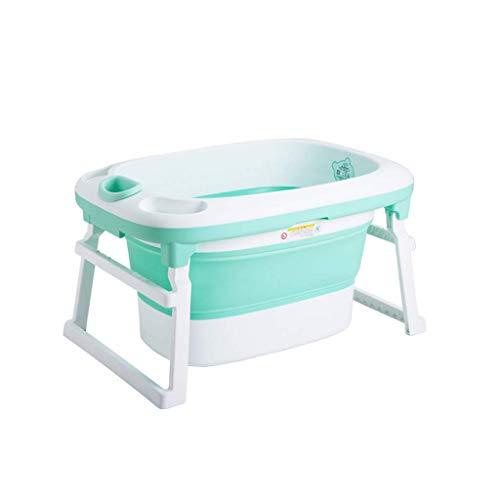 MY1MEY Baby Bath, Bañera Plegable portátil, Plato de Ducha Plegable para niños, Cómoda bañera Plegable...