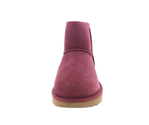 UGG Damen Bailey Button Kurzschaft Schlupfstiefel bougainvillea